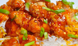 Sugar-Free Crispy Orange Chicken