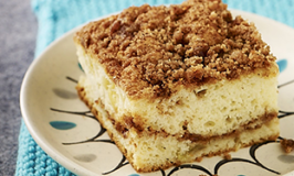 Low Calorie Cinnamon Crumb Cake Recipe